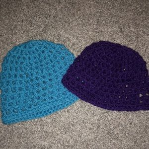 Accessories - Homemade* Crochet Knitted Hats